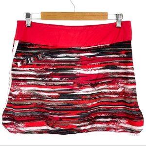 Athleta Swift Zip Skort Skirt Athleisure Golf Play
